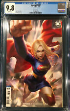 DERRICK CHEW CGC 9.8 SUPERGIRL #37 not CBCS VARIANT COVER SUPERMAN BATMAN JOKER