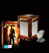 Indiana Jones Kingdom Crystal Skull with Bonus Crystal Skull Replica NEW DVD R4