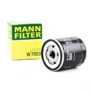 Mann Filter Oil Filter W7053 fits Peugeot 504 D_, F_ 2.0 (D11, F11)