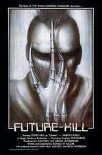 Future Kill Poster 01 A2 Box Canvas Print