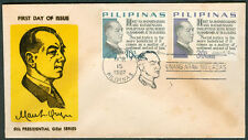 1967 Philippines MANUEL L. QUEZON 6th PRESIDENTIAL GEM SERIES First Day Cover C
