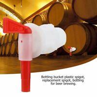 Plastic Wine Beer Bottling Bucket Spigot Tap Replacement Homebrew Making Tools