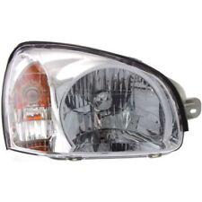 For Santa Fe 03, Passenger Side Headlight, Clear Lens