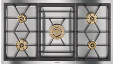"""New listing Gaggenau 36""""-Inch Gas Drop-In Cooktop Vg491210Ca 400 Series Stainless 120V"""
