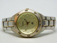 Fossil Blue AM-3352 Silver Tone Quartz Analog Men's Watch