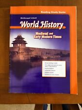 World History Medieval And Early Modern Times Reading Study Guide