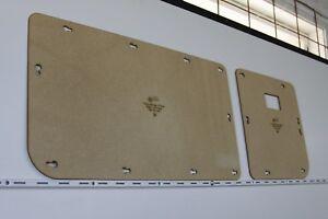 Toyota Land Cruiser 70 Series Barn Door Blank Trim Panels. 73, 75, 78, 79