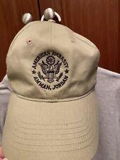United States Embassy Amman Jordan Polo Shirt And Ballcap