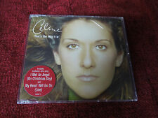 Celine Dion That's The Way It Is RARE CD Single