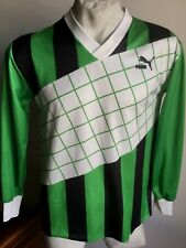 Maglia calcio puma borussia mönchengladbach matchworn 13# trikot vintage size L