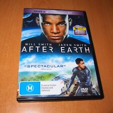 AFTER EARTH ( 2013 , DVD , REGION 4 ) WILL SMITH , JADEN SMITH ~ * LIKE NEW *