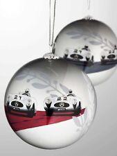 Mercedes Benz Christbaumkugeln Weihnachtsbaum kugeln Kugel Set silberfarben Neu