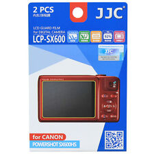 2x Film LCD Screen Display Hard Protection for Canon Powershot SX600HS SX600