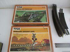 Vintage Trains  HG Crossing/ TYCO transformer/ HO Bridge/Trestle set