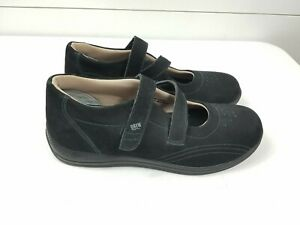 Drew Size 11.5 M Orthotic Mary Jane Shoes Womens Black Diabetic Comfort Orchid