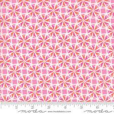 By 1/2 Yard ~ Moda Fabric Kate Spain Early Bird Whirlaway in Lilac ~  Pinwheels