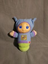 Playskool Blue Lullaby Gloworm Toy Musical Night Light Glo Glow Worm 2005 Works