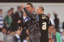 ROCHDALE: STEVE EYRE SIGNED 6x4 ACTION PHOTO+COA