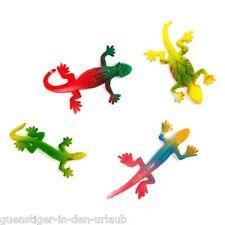 Spielzeug Gummitiere Stretch Eidechsen 6 Stück Stretchtiere Spielen NEU