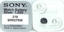 319 Sr527Sw Watch Battery Sony 319 Sr527Sw V319