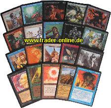 Uncommon Pack-sabe inglés - 20 ungew. original Magic libro de mapas Lot