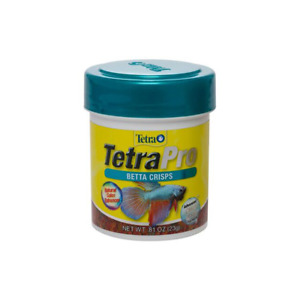 Tetra Pro Betta Crisps 23g Floating Siamese Fighting Fish Food