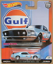 HOT WHEELS 2019 CAR CULTURE GULF RACING '69 FORD MUSTANG BOSS 302 #2/5