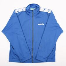 90s Vintage DIADORA Spell Out Jacket | Mens M | Tracksuit Track Retro Tape