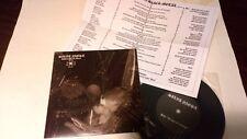 "Silva Nigra - Unholy Black Metal. 7"" Vinyl. [2003] Limited edition. Numbered"