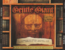 CD-BOX Gentle Giant Memories Of Old Days Chrysalis Records