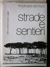 De Muro - Strade e sentieri - poeti sardi, Sardegna, Cagliari, poesia, Emanuele,
