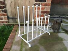 WROUGHT IRON WELLINGTON BOOT RACK STAND HANGER WELLY WELLIES RIDING BOOTS NEW