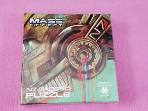 """Mass Effect N7 Tagged Puzzle - 1000pc - 18"""" x 24"""", Brand New and Sealed!"""