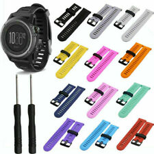 Silicone Strap Replacement Watch Band with Tool For Garmin Fenix3/Hr Gps Watch
