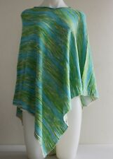Pashmina Poncho Cashmere Wool Cape Wrap Soft Warm Women Long Sleeve 31