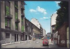 ALESSANDRIA CITTÀ 136 Via GRAMSCI Cartolina FOTOGRAFICA viaggiata 1961