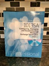 10135A Microsoft Office troubleshoot  manage 2010 IT Professional book no cd rar