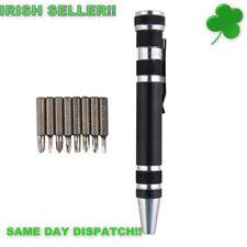 Pocket Pen Screw Driver Multi Tool Precision Tool Kit Screwdriver Set 8 in 1