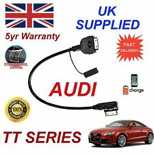 For AUDI TT 4F0051510K AMI MMI iPhone 3gs 4 4s iPod MP3 USB 30p Audio cable 09+