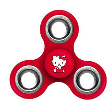 Collection Hello Kitty Red - Tri FIDGET Spinner Ceramic Ball Hand Desk Toy 03