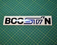 Boostin Decal Sticker Subaru STi - JDM Drift Turbo