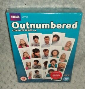 Outnumbered - Series 1-4 Box Set (DVD, 2011, 6-Discs) NEW & SEALED