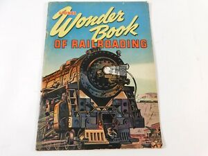 "Vintage Original 1943 Lionel Toys Wonder Book of Railroading 8.5"" x 11"""