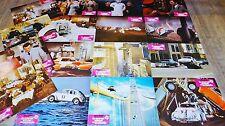 LE NOUVEL AMOUR DE COCCINELLE ! disney Herbie jeu 16 photos cinema 1974 cars