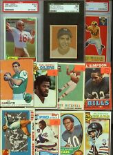 HUGE 2200 CARD VINTAGE 50'S-80'S ROOKIE HALL OF FAME SPORTS CARD COLLECTION LOT