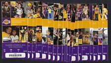 2014-15 NBA LA LAKERS ALMOST COMPLETE FULL SEASON BASKETBALL TICKETS - 41 TIX