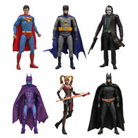 "NECA Joker/ Superman/ Batman/ Harley Quinn 7"" Action Figure DC Comic Collectible"