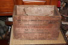 Antique Winchester Repeating Arms Co. Wood Box Crate-Shotgun Cartridges-Empty