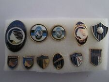 j6 lotto 11 pins lot ATALANTA BC FC club spilla football calcio spille badge