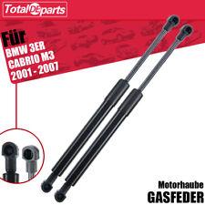 2x Gasfeder Dämpfer Motorhaube Gasdruckdämpfer für BMW 3er E46 Cabriolet 01-07